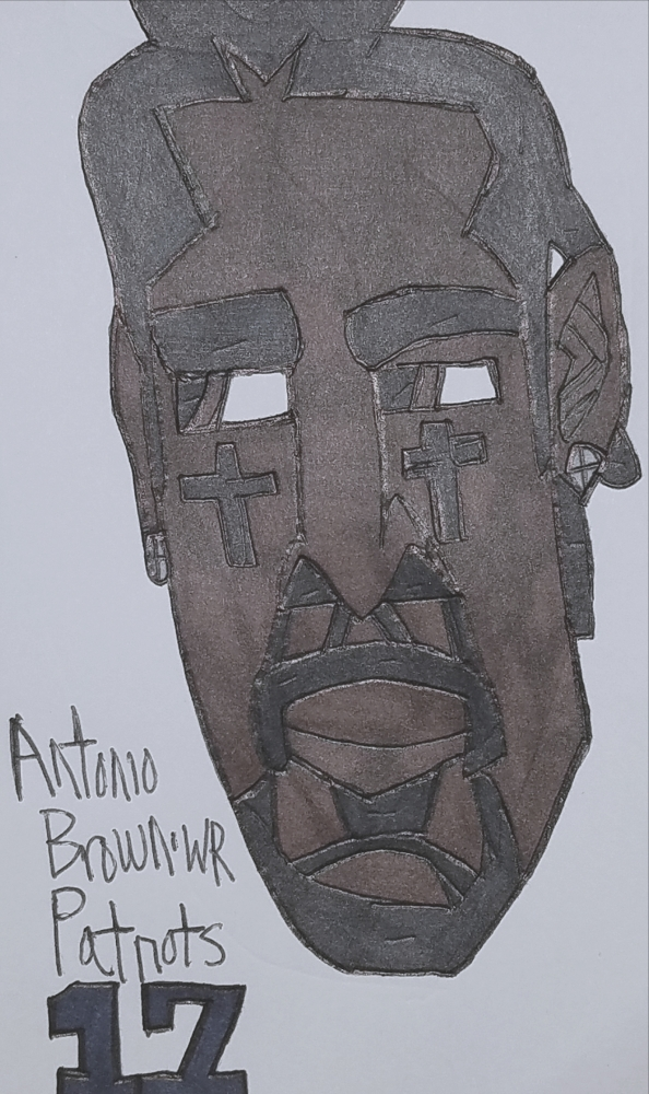 Antonio Brown by armattock